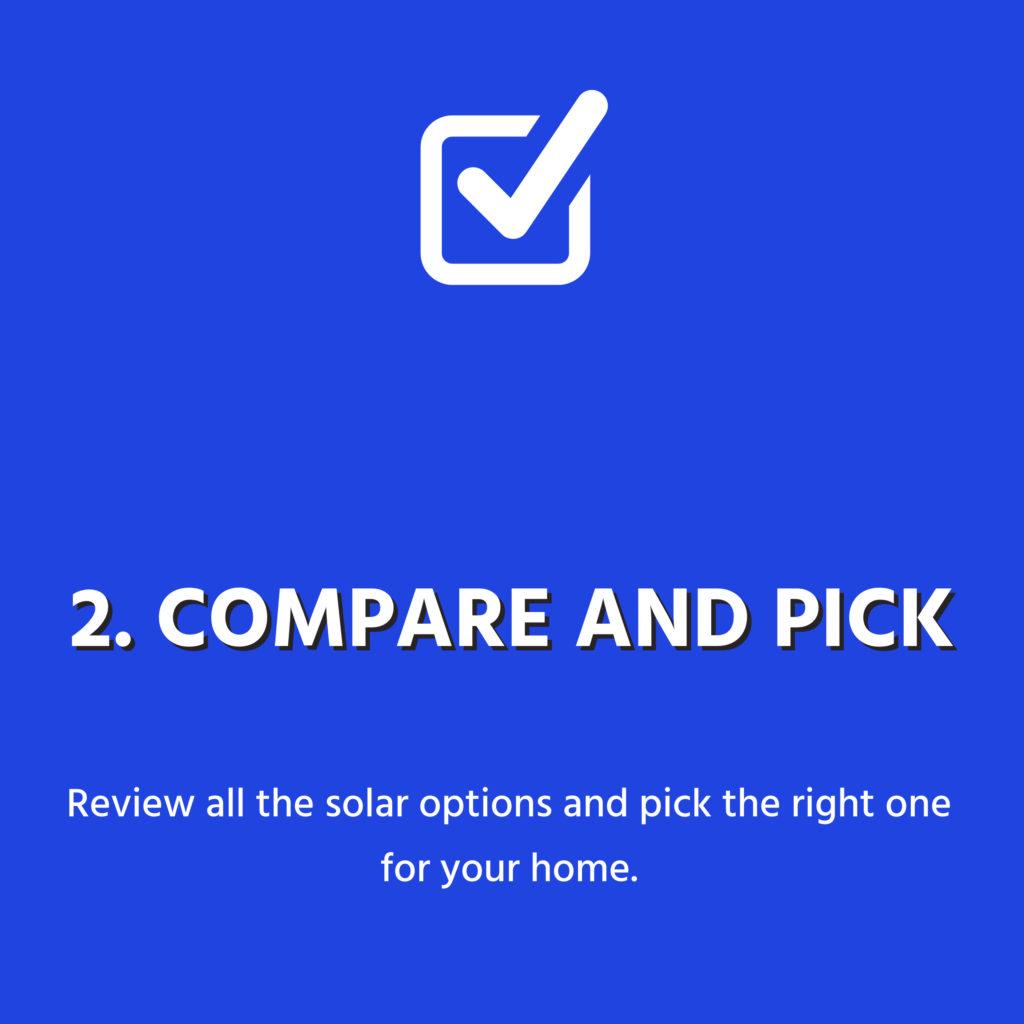 compare and pick 3