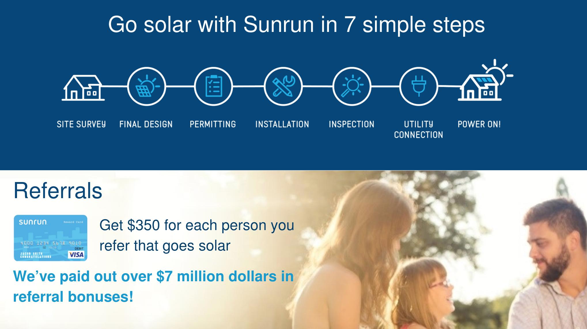 Sunrun in 7 steps