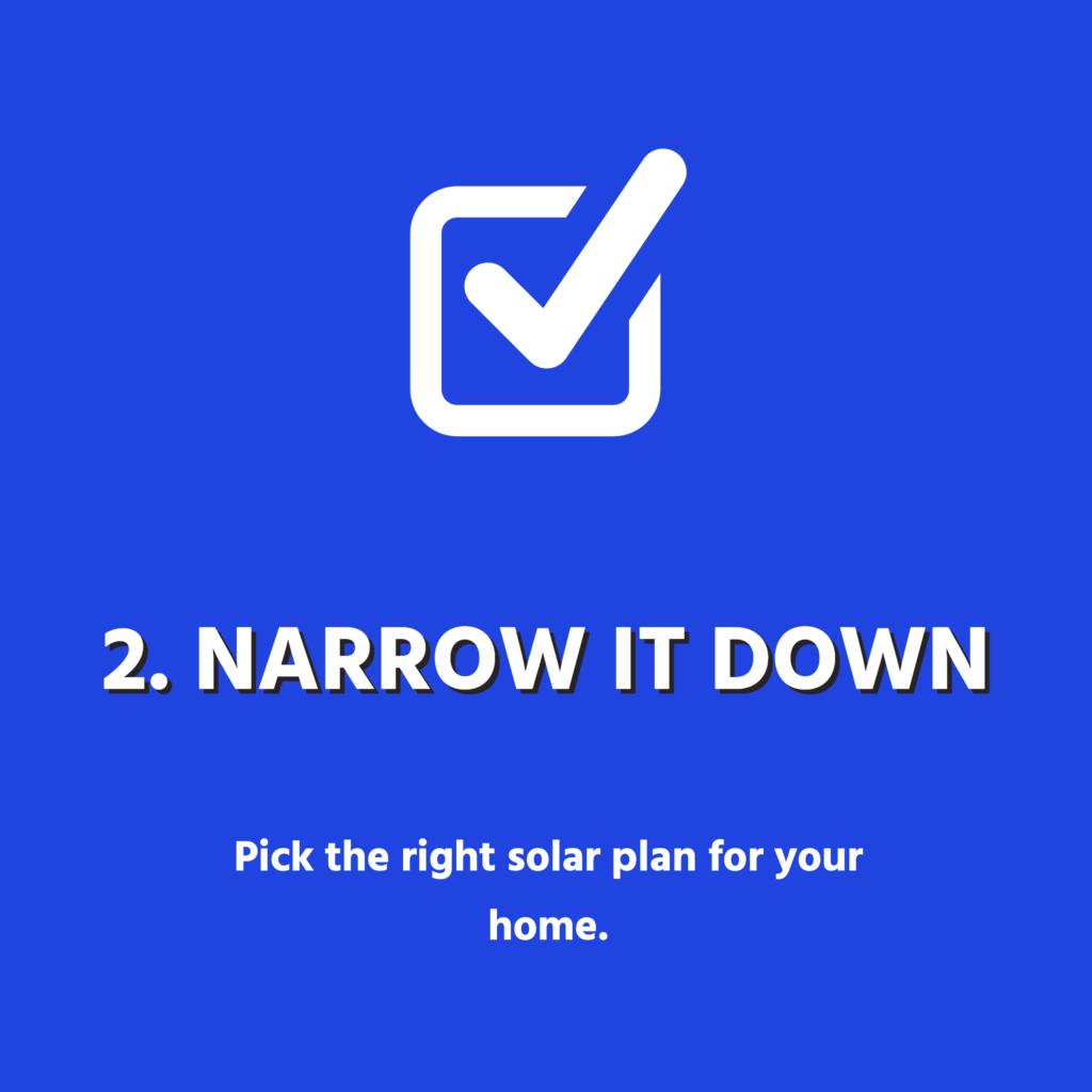 Narrow It Down