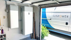 Sunpower Sunvault Storage and Van